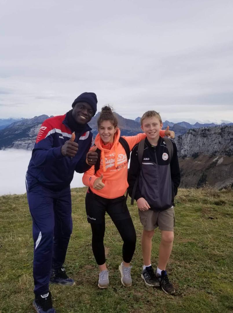 Alexandre, Solène et Mathieu